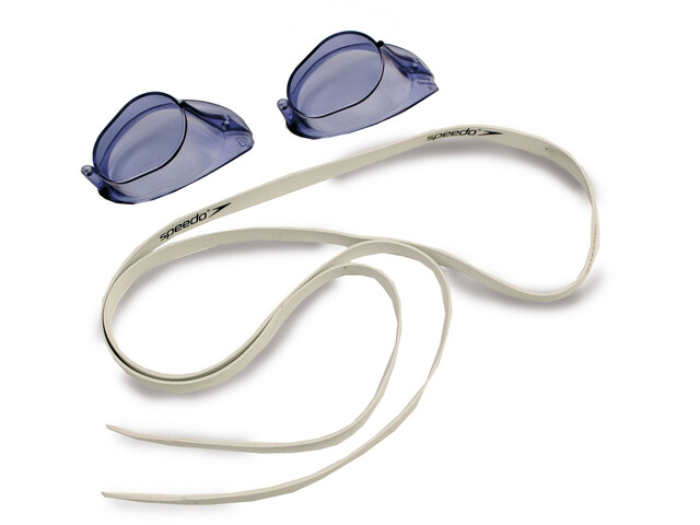 speedo Swedish Gafas, white/blue